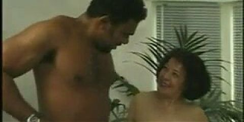 Beautiful granny is hooked on a BBC
