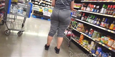Candid big booty granny dpl