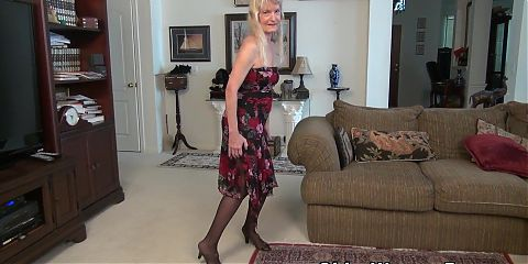 Grandma Claires old pussy needs some attention