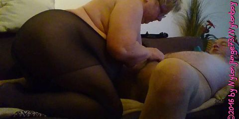 Horny mature cunt blows my cock