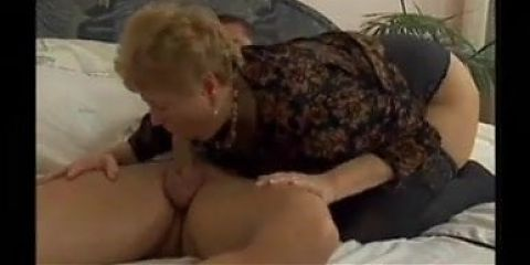 Granny Wants His Cum