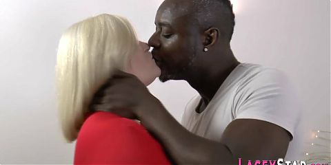 Granny rides black dick and gets oral