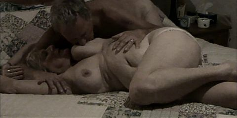 Dusty strips his mature wife