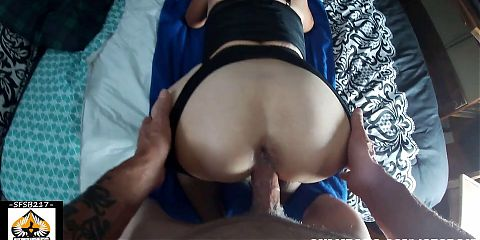 Hot Granny Loves It From Behind – CREAMPIE